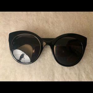 Gucci GG0028S 001 Round Black Sunglasses